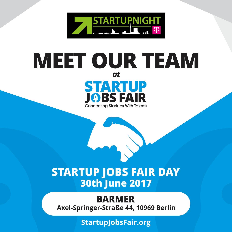 startupnight startup jobs fair june 30th startupnight. Black Bedroom Furniture Sets. Home Design Ideas