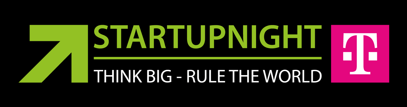 Startupnight Slogan Logo