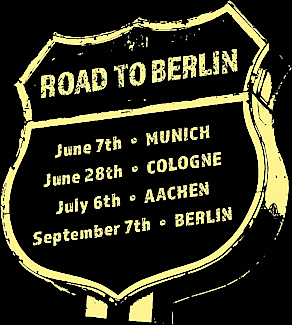 Startupnight 2018 - Road to Berlin Sign