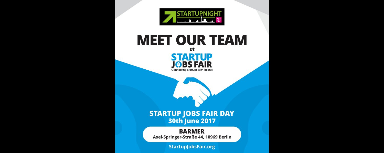 Startupnight @STARTUP JOBS FAIR June 30th | Startupnight