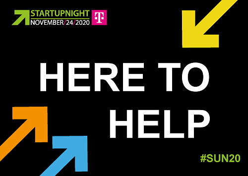 Startupnight Wallcard 2020 #here2help