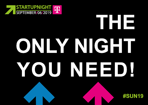 Startupnight Wallcard The only night you need!